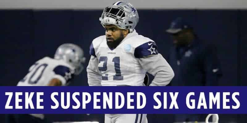 Ezekiel Elliot Suspension