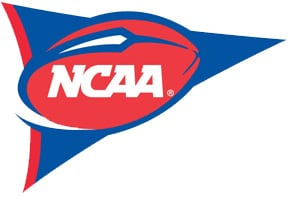 NCAAF football logo