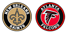 Falcons @ Saints
