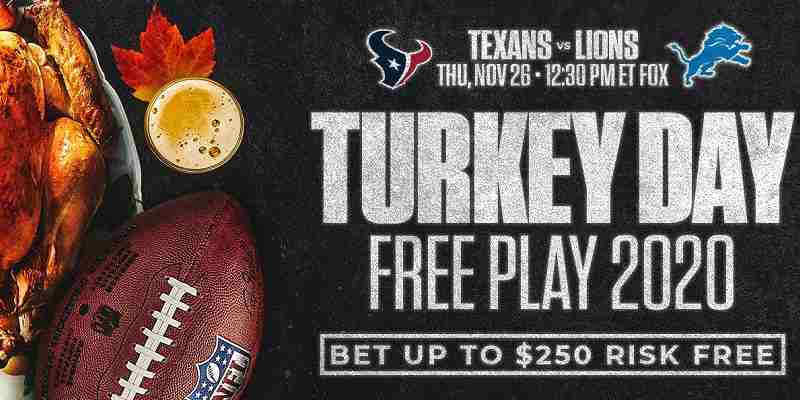 MyBookie Turkey Day Free Play